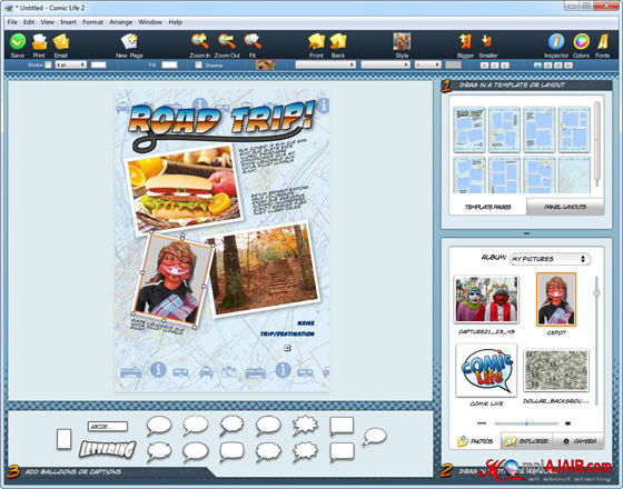 Comic Life 2.2.6 Portable Untuk Windows